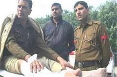 haryana  yamunanagar  threatening  police staff
