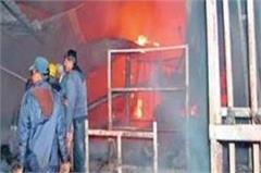 haryana  bawal  warehouse  fire