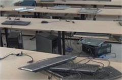 thieves stolen 20 computers from school
