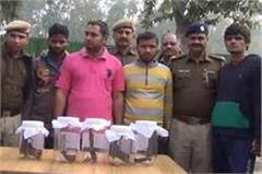 rohtak  police success  gang  murder
