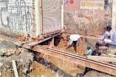 sewer wall collapsed 4 workers injured