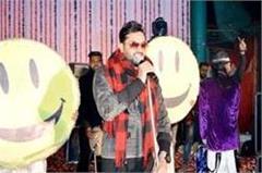 taste of punjabi songs in the evening of holi festival  viewers danced