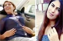 viral video of going viral in with name of gurmehar kaur