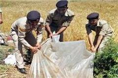 screws on liquor mafia  police here destroyed thousands liters of raw liquor