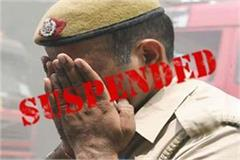 2 policemen suspended for charging fake reports