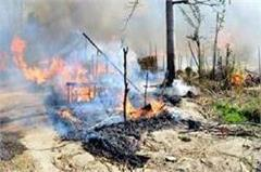 fire burns more than 50 huts  including women  burns in ashes