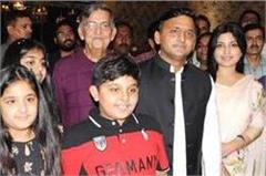 akhilesh reached late night at the restaurant looking after former cm