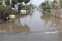 up department of irrigation  negligence  gurgaon canal overflow