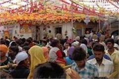scorching heat also in maa naina devi darbar of descended faithful