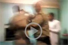 rpf junk fugitives stopped in train bins and beaten the policeman
