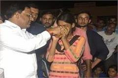 faridabad girls of strike end