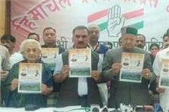 mc election shimla for congress oath be released vision document