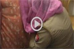 this act of women s darooga in meerut was once again blurred with khaki