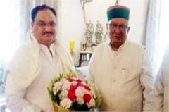 himachal assembly speaker meet from nadda in delhi  discussion on this issue