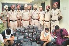 three accused arrested for stealing mobile towers batteries