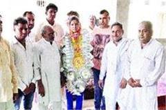 haryana daughter won bronze in asian sembo wrestling