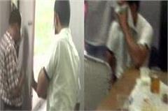 suspend workers drunk in secretariat