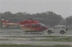 manohar lal khattar helicopter emergency landing