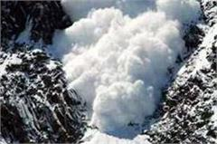 100 sheep and goats killed due to avalanche