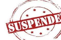 senior officials instructions to suspend women head constable