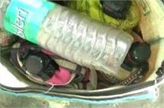kerosene bomb found in railway complex