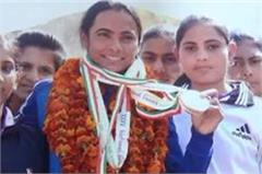 santosh bhairon won siver medal
