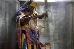 shiva unique devotion abhishek performed with serpent and bion