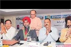 irwinidepe rotary club of jalandhar new head