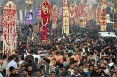 hindu muslims are convinced of etawah  s unique lutas ritual on muharram