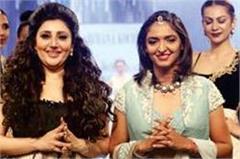 harmanpreet kaur debuts on ramp at fashion gala in mysuru