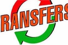 punjab 3 ias transfer of officers