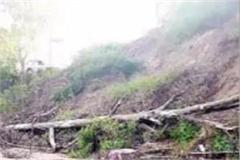 falling debris here ramshahr panchayat danger to building