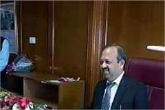 bk agarwal new chief secretary took charge as the administrative reshuffle