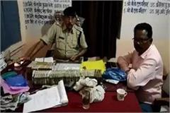 during checking 58 lakh rupees 1 kilogram of gold and 300 grams of silver