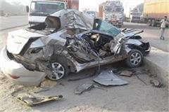 road accident in sonipat haryana two died