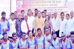 indian blind cricket team won series by defeating sri lanka