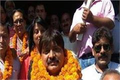 bjp can not figure out congress in dharamshala municipal corporation election