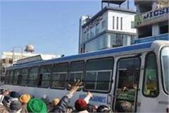 haryana roadways employees extended their four day strike