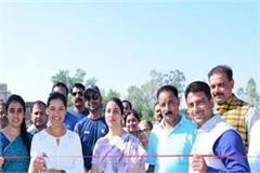 international women s player in indora launches cricket academy