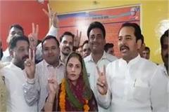 nagarpalika chika s reins now in women s hands