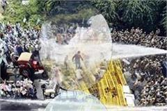 high march of farmers sealed to delhi up border
