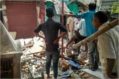 house after bomb blast in varanasi