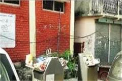 sundernagar in under ground dustbin scheme fail