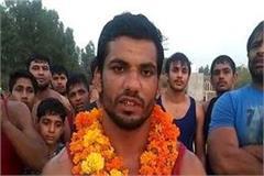 bahadurgarh s wrestler rahul rathi won the title of bharat kumar
