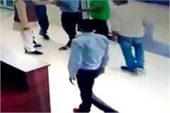 bjp mla beat toll employee in shivpuri