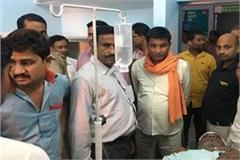 salesmen injured in a shootout of amethi