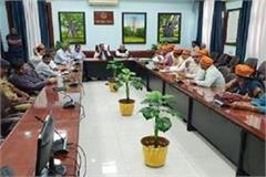 emergency meeting convened by deputy cm on the issue