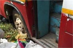 a painful accident at hansi road in jind
