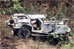 painful incident bolero jeep fall into ditch death of 2 6 injured