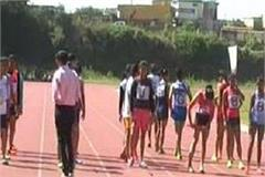 three day inter college athletic meet
